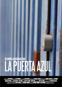 Cartel La Puerta Azul