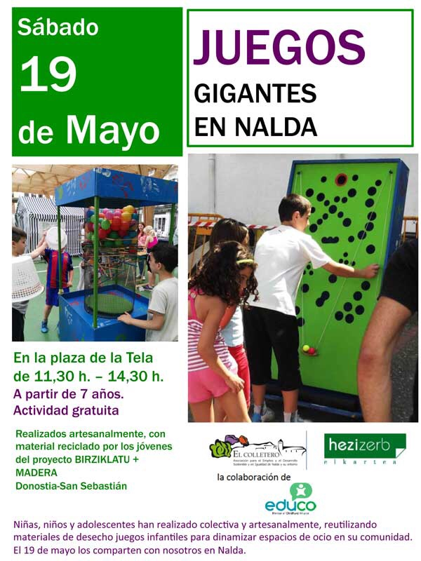 Juegos Gigantes En Nalda Rioja Hoy