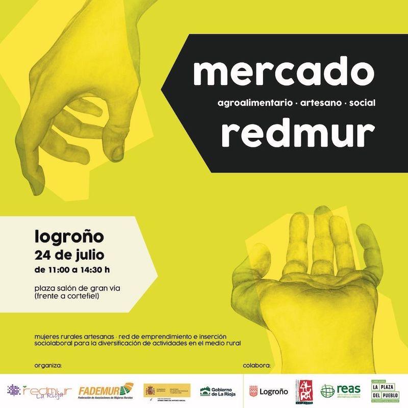 Mercado REDMUR en Logroño